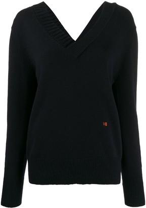 Victoria Beckham v-neck knitted jumper