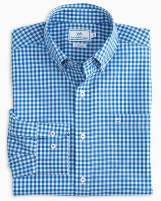 Southern Tide Classic Gingham Button Down Shirt