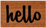 Home & More Hello Doormat Rug