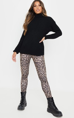 ASA Trad Brown Leopard Print Leggings