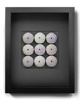 Lilac Urchins (Shadow Box Frame)