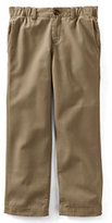 Classic Toddler Boys Iron Knee Plain Front Pull-on Pants-Light Beige