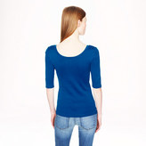 J.Crew Perfect-fit ballet button tee