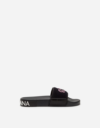 Dolce & Gabbana Slides With Patch