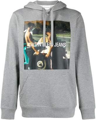 Calvin Klein Jeans photo print hoodie