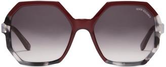 Oliver Goldsmith Sunglasses Yatton 1964 Ruby Maze