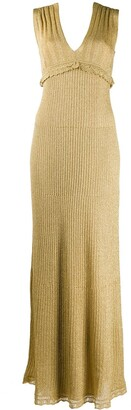 M Missoni Knitted Long Dress