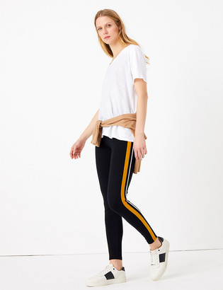 Marks and Spencer Side Stripe High Waisted Leggings