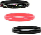 Kirra Neon Splatter Bangle Bracelets