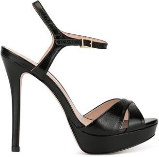 Schutz Strappy Platform Sandals
