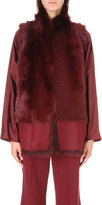 Karl Donoghue Reversible faux-fur and leather gilet