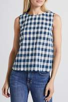 Current/Elliott Current Elliott Boxy Cropped Tank Top