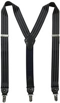 Tommy Hilfiger Men's 32mm Suspender With Ribbon With Convertible Clip Ends