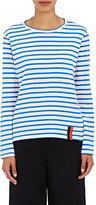 Kule Women's Modern Striped Cotton Long-Sleeve T-Shirt