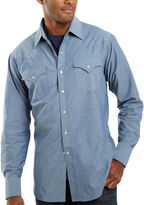 JCPenney Ely Cattleman Chambray Shirt-Big & Tall