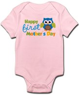 CafePress - Owl Boy 1St Mothers Day Body Suit - Cute Infant Bodysuit Baby Romper