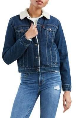 Levi's Original Sherpa Denim Trucker Jacket