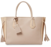 Longchamp Penelope Fantaise Leather Tote Bag