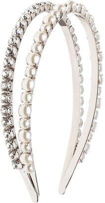 Miu Miu Embellished Double Hairband