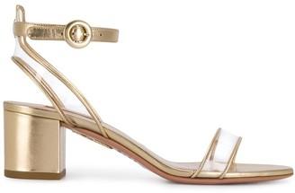 Aquazzura clear strap sandals