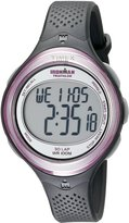 Timex Women's Ironman T5K600 Grey Resin Quartz Watch with Dial