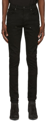 Amiri Black Workman Skinny Jeans
