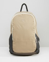 Stighlorgan Dara Backpack In Cotton With Leather Trim