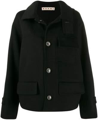 Marni double-face short coat