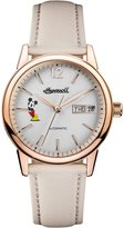 Ingersoll Women's Automatic Stainless Steel and Leather Casual Watch, Color: (Model: ID01102)