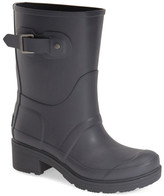 Hunter 'Original' Waterproof Ankle Rain Boot (Women)