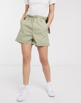 Asos DESIGN casual short with paperbag waist