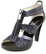 MICHAEL Michael Kors Berkley T Strap Open Toe Canvas Sandals.