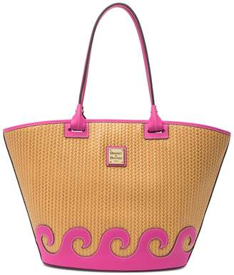 Dooney & Bourke Beacon Large Atlantic Woven Leather Tote