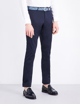Polo Ralph Lauren Slim-fit tapered stretch-cotton trousers