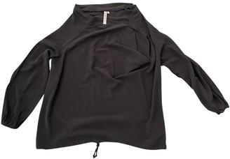Antonio Marras Black Silk Top for Women