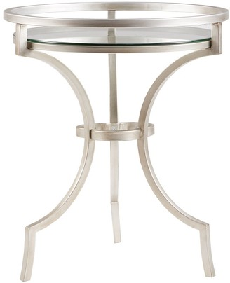 Madison Home USA Harold Silver/ Metal Accent Table