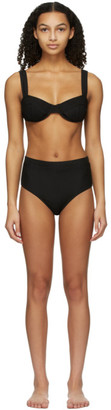 Solid and Striped Black The Lilo Bikini