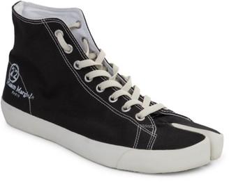 Maison Margiela Vandal Tabi High-Top Split-Toe Sneakers