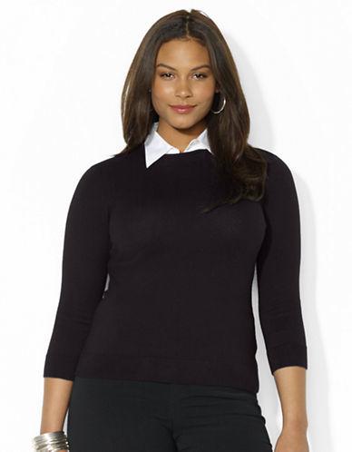 Lauren Ralph Lauren Collared Crewneck Sweater