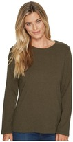 Pendleton L/S Jewel Neck Cotton Rib Tee Women's Long Sleeve Pullover