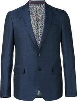 Etro classic blazer - men - Silk/Linen/Flax/Polyester/Wool - 46