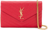 Saint Laurent small monogram quilted bag - women - Leather/metal - One Size