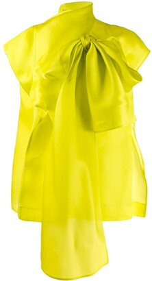 Nina Ricci Oversized Bow-Embellished Blouse