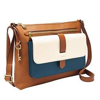 Fossil Women's Kinley Fabric Crossbody Handbag
