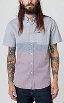 RVCA Men's That'll Do Block Short Sleeve Shirt