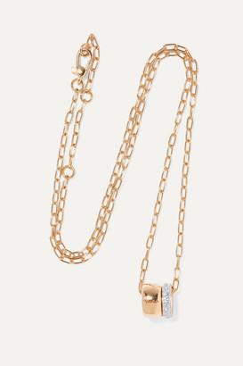 Pomellato Iconica 18-karat Rose Gold Diamond Necklace - one size