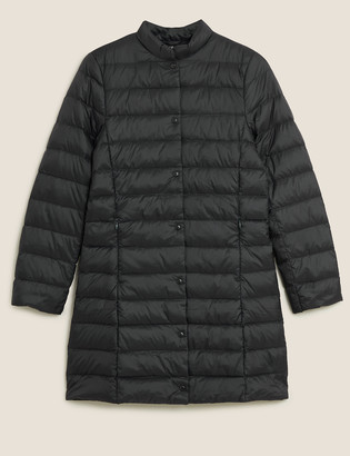 Marks and Spencer Feather & Down Lightweight Puffer Coat