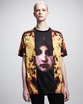 Givenchy New Flame & Madonna-Print Tee
