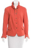 Akris Punto Long Sleeve Casual Jacket