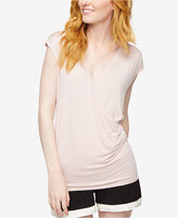 A Pea in the Pod Faux-Wrap Nursing Sleep Top